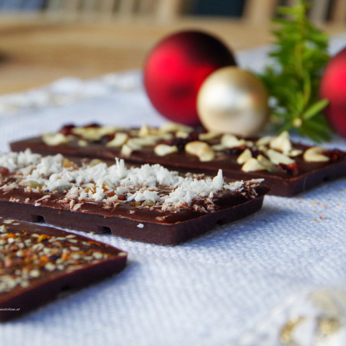 Geschenke aus der Küche #2 – selbstgemachte Schokolade