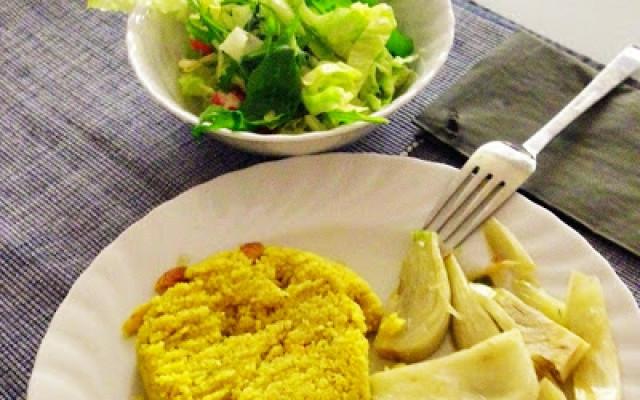 Fenchel mit Couscous