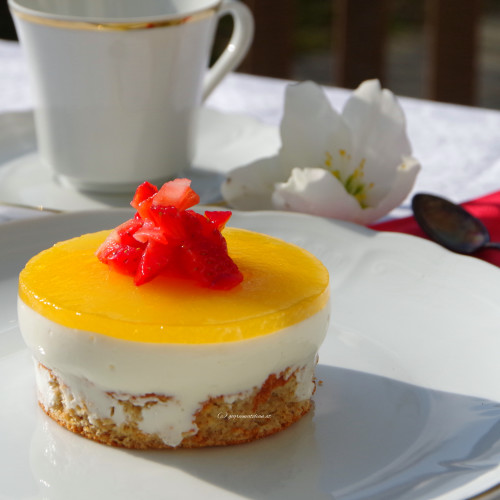 {Sweets} Joghurt-Orangen-Törtchen