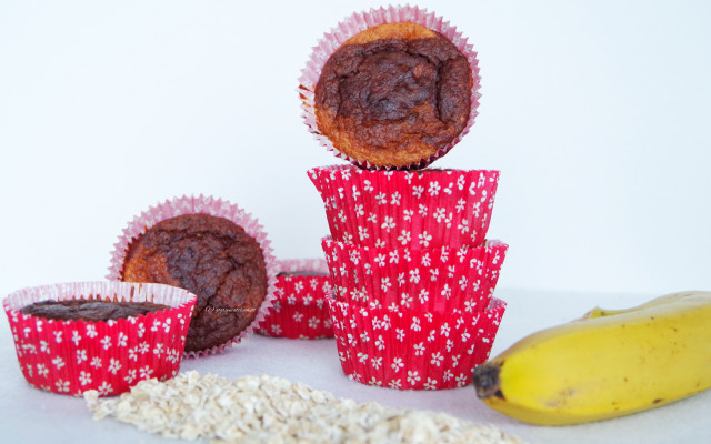 {Sweets} Mamor-Muffins mehlfrei, zuckerarm