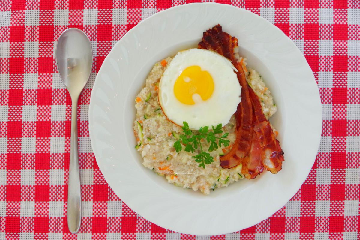 {Food} Pikantes Porridge