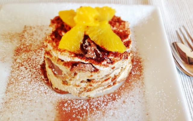 Mini Pancake Tiramisu